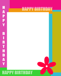 Happy Birthday Magazine Frame - screenshot