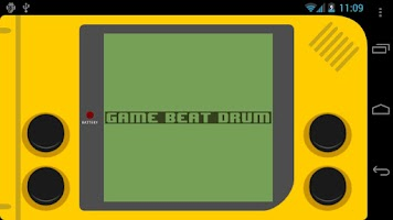 Screenshot of GAME BEAT DRUM