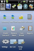 Screenshot of AZZURRA Financial Accounting