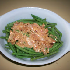 Green Beans With Dijon Mustard and Caramelized Shallots