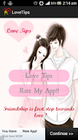 Screenshot of Love Tips