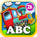 Kids Animal Train - First Word icon