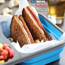 Pepperoni Mozzarella Grilled Cheese – Project LunchBox