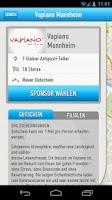 Screenshot of SponsoRun Gutscheine erlaufen