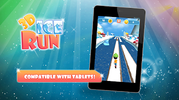 Screenshot of 3D Ice Run