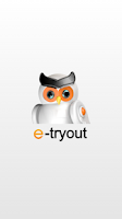 Screenshot of e-Tryout