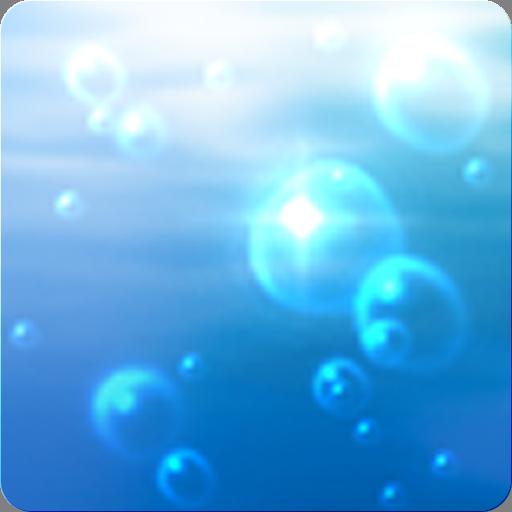 バブル Live Wallpaper 個人化 App LOGO-硬是要APP