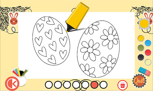Easter Coloring pages - screenshot