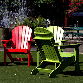 by John Hale - Artistic Objects Furniture ( red, green,  )