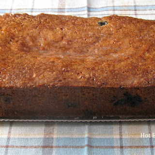 Lemon Blueberry Summer Squash Bread with Lemon Glaze