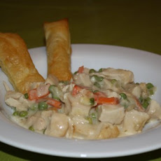Chicken Pot Pie Fingers
