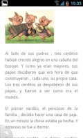 Screenshot of Cuentos Infantiles