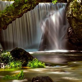Senhora da Piedade by Nuno Miguel Valente - Landscapes Waterscapes ( vida selvagem, cascatas, serra da lousã, nature, waterscape, nmvalente, primavera, serra, landscape, rios, paisagem )