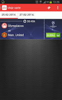 Screenshot of KlikSPORT