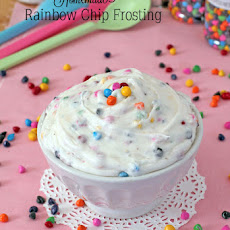 Homemade Rainbow Chip Frosting