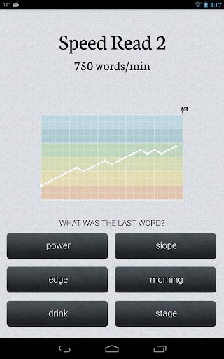 Speed Reader - screenshot