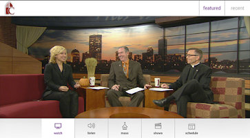 Screenshot of CatholicTV