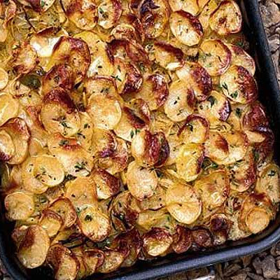 Buttery Roast Thyme Potatoes