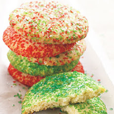 Big Crunchy Sugar Cookies