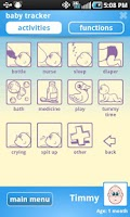 Screenshot of Baby Development Journal