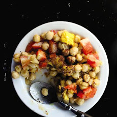 Zalata Amba (Chickpeas with Mango Pickle)