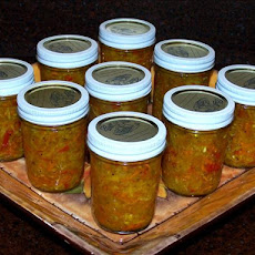 Sweet and Spicy Garden Relish/ Chow-Chow