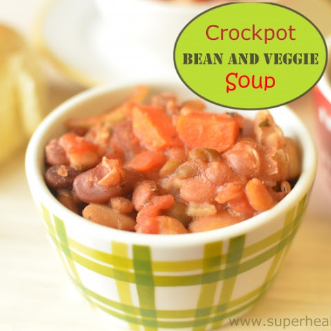 Crockpot Rice and Bean Soup