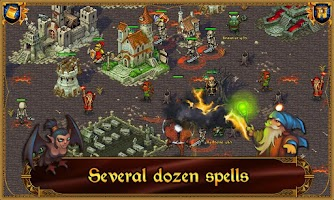Screenshot of Majesty: Fantasy Kingdom Lite