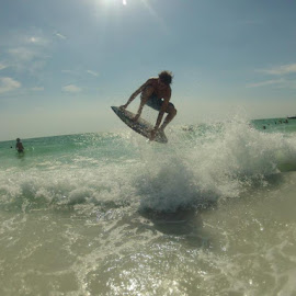 Siesta Key Skimboarding by James Alessandrelli - Sports & Fitness Other Sports