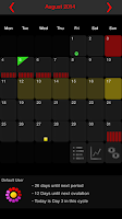 Screenshot of MyDays X - Period & Ovulation™