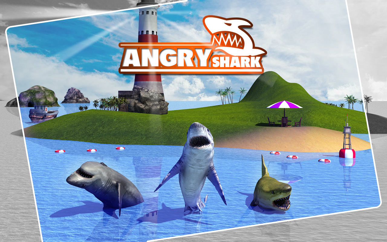 Angry Shark Simulator 3D Screenshot 5