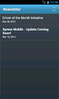Screenshot of Xpress Mobile
