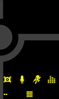 Screenshot of Minimalist_Yellow - ADW Theme
