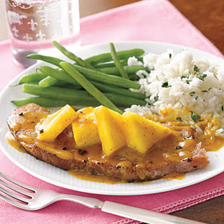 Ham Steak with Pineapple