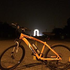 Night Ride by Saurav Singh - Sports & Fitness Cycling