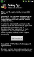 Screenshot of Battery Spy Full License