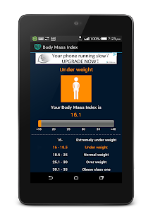 Body Mass Index - screenshot