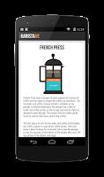 Screenshot of Baristame - Coffee Guide FREE