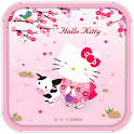 Hello Kitty Sakura Theme icon