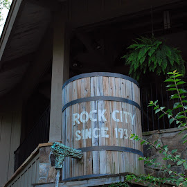 Visit Rock City by Phil Grierson - City,  Street & Park  Historic Districts ( water, rock city, fun, travel, barrel, historic )