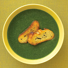 Spinach, Leek, and Potato Soup