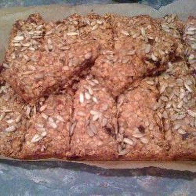 Date And Walnut Flapjacks