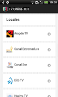 Screenshot of TV Android TDT