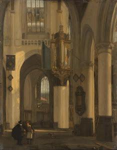 RIJKS: Emanuel de Witte: painting 1677
