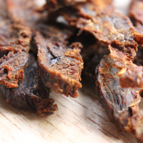 Homemade Paleo Beef Jerky — Gluten-free, Paleo, and Whole30 compliant.