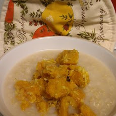 Coconut Jook with Sweet Potato