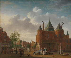 RIJKS: Isaac Ouwater: The Sint-Antoniuswaag in Amsterdam 1790