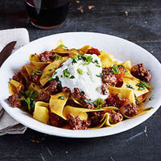 Spicy Ground Lamb Ragu