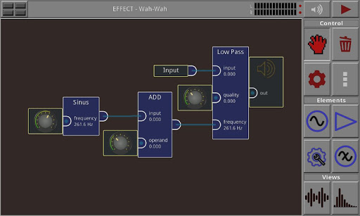 Androsynth Audio Composer - screenshot
