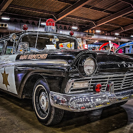 Creek County Sheriff by Ron Meyers - Transportation Automobiles